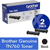 2-Pack Brother TN-760 Toner Cartridge (Black)