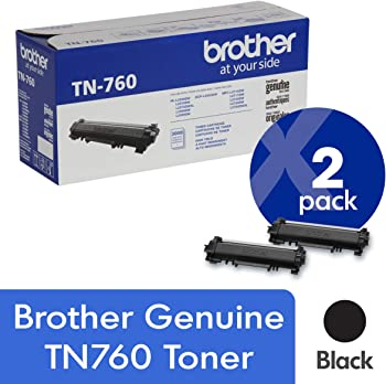 2-Pack Brother TN-760 Toner Cartridge