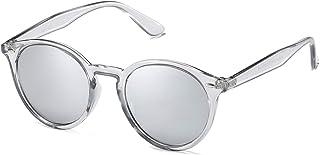 Classic Retro Round Polarized Sunglasses UV400 Mirrored...