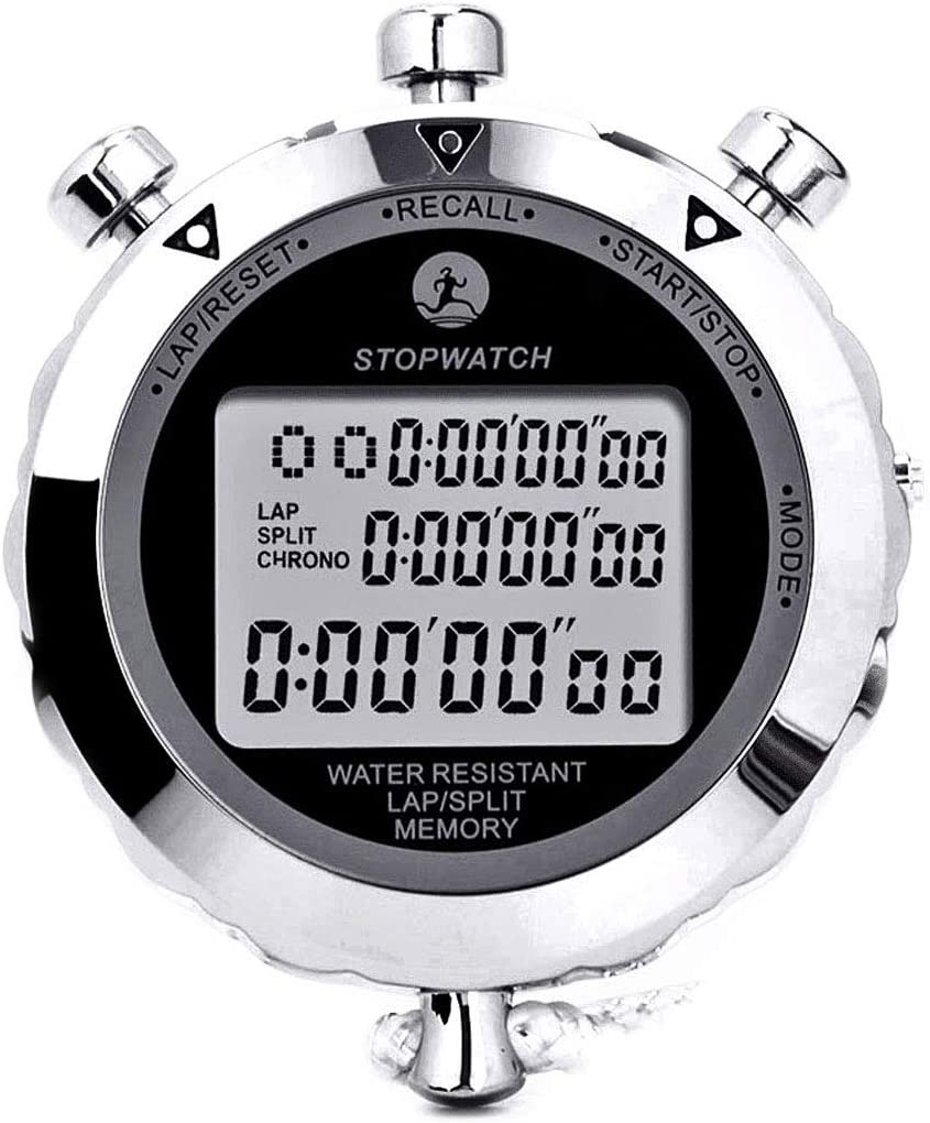 Rolilink Metal Stopwatch Timer for Sports, Competitions and Games