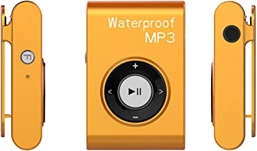 $61 » QYXM Swimming MP3 Player with Clip, 4GB/8G Mini Waterproof Swimming MP3 Player with Waterproof Headphones/Support FM Radio and Shuffle Feature Perfect Swimming Companion
