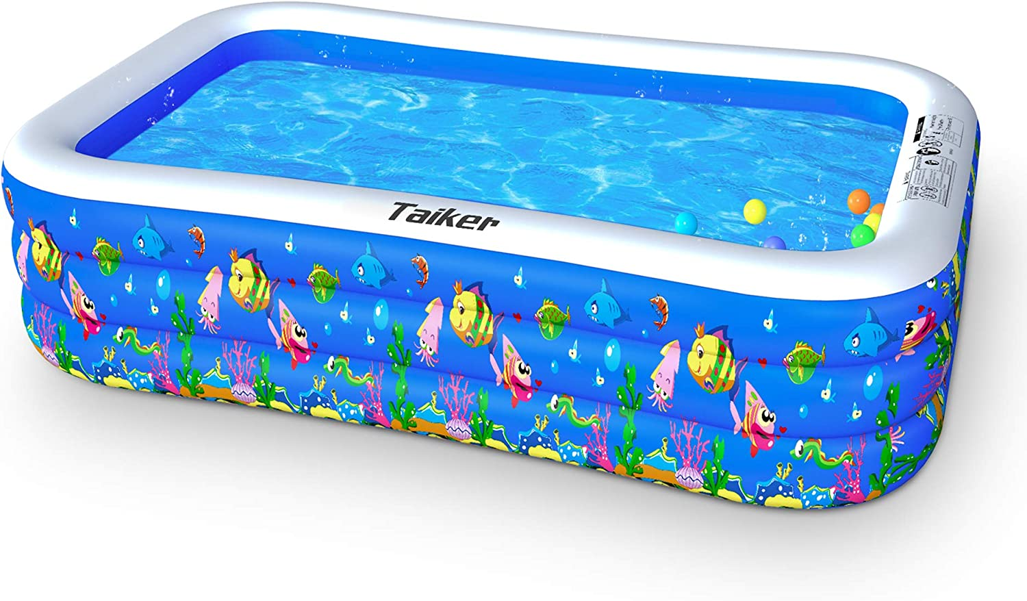 Taiker Inflatable Swimming Pools