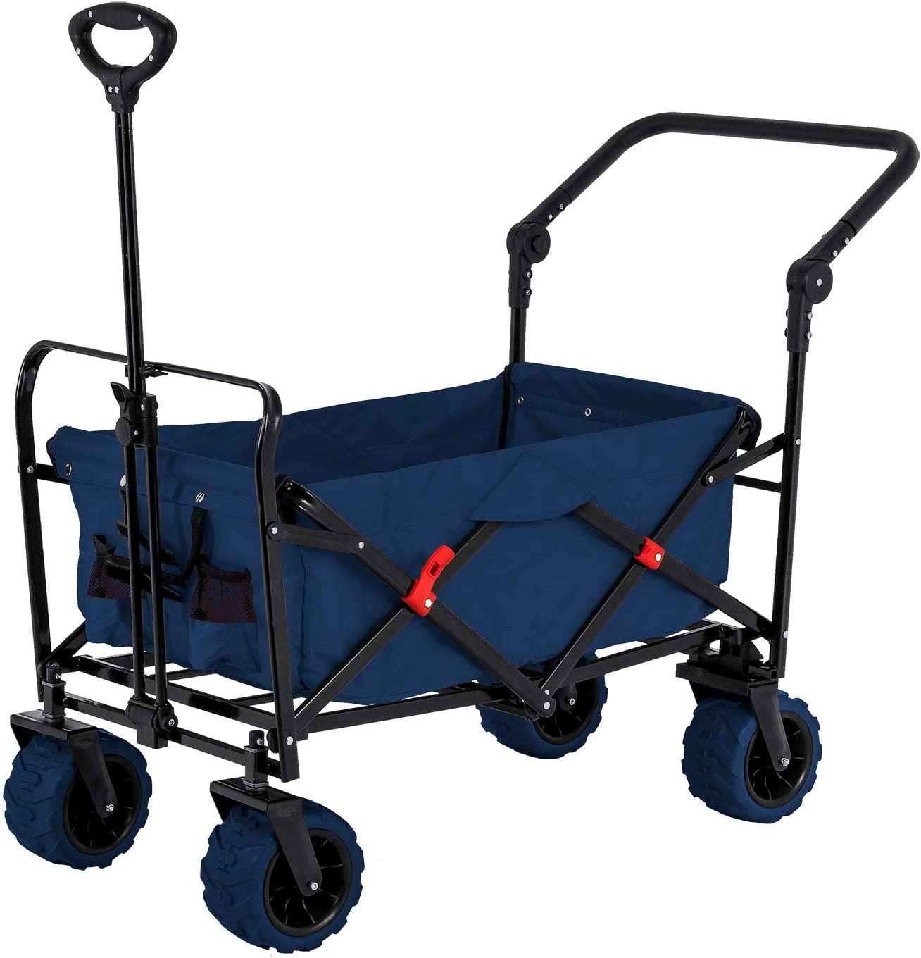 TCP Global All Terrain Folding Collapsible Utility Wagon