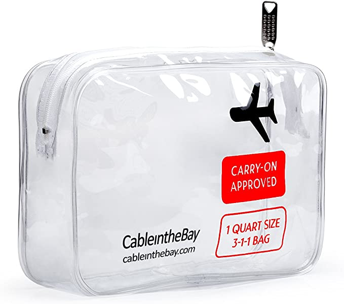 Cableinthebay TSA Approved Toiletry Bag