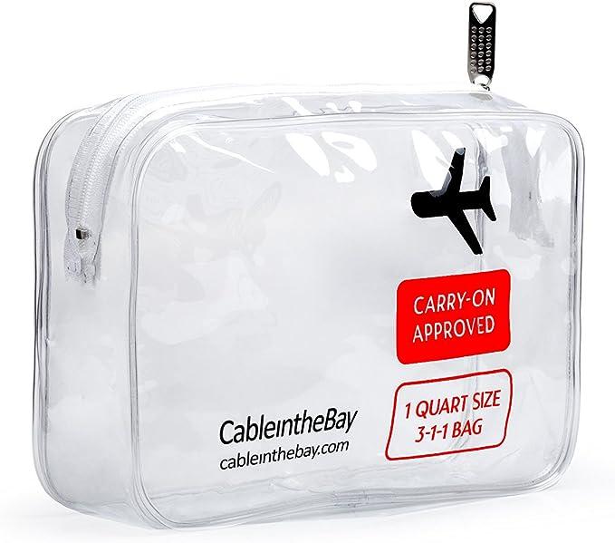 Cableinthebay TSA Approved Toiletry Bag