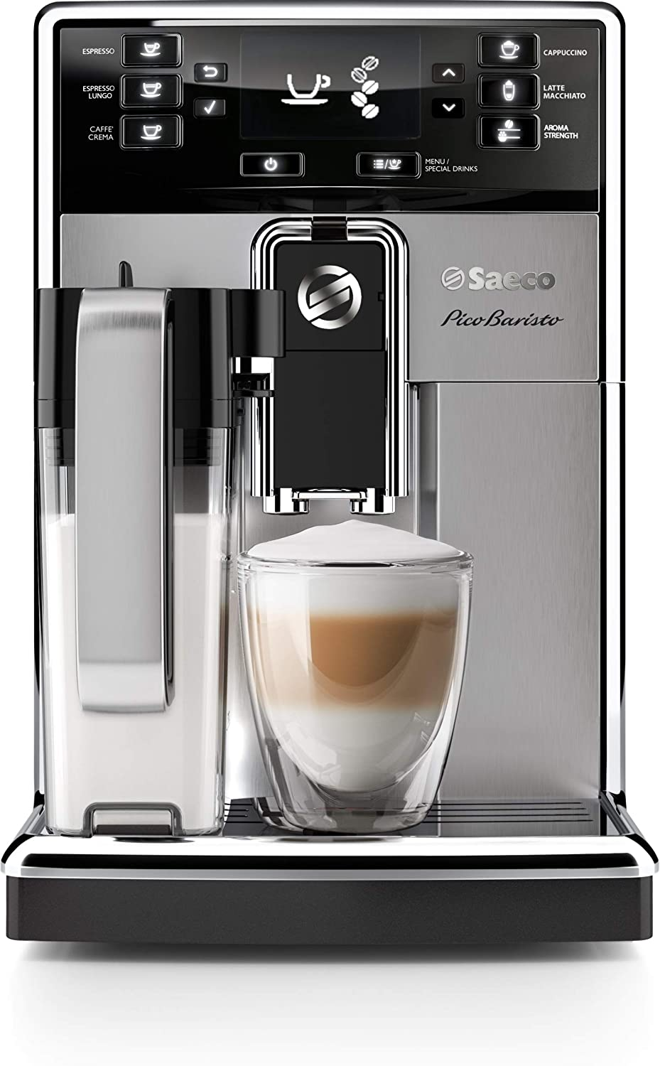 Saeco PicoBarista Super-Automatic Espresso machine w/ Milk Carafe review