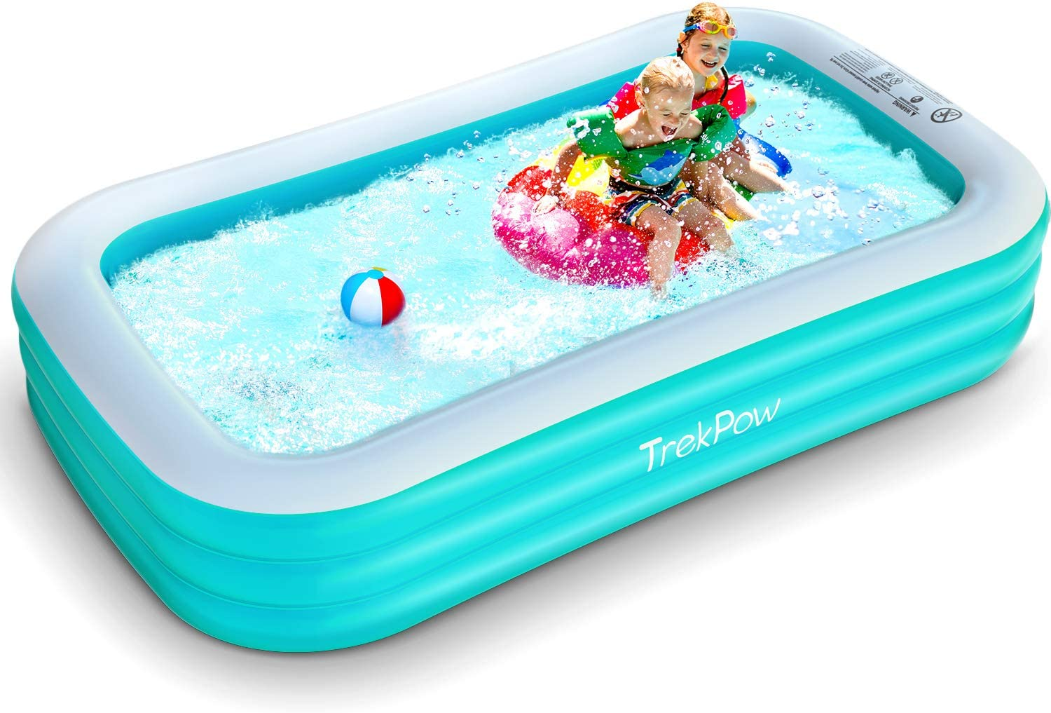 TrekPow Inflatable Swimming Pool