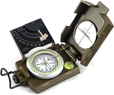 Eyeskey Multifunctional Military Metal Sighting Navigation Compass
