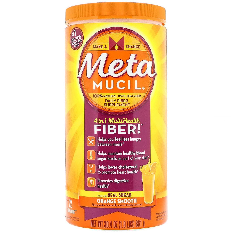Metamucil, 4 in 1 MultiHealth Fiber Powd…