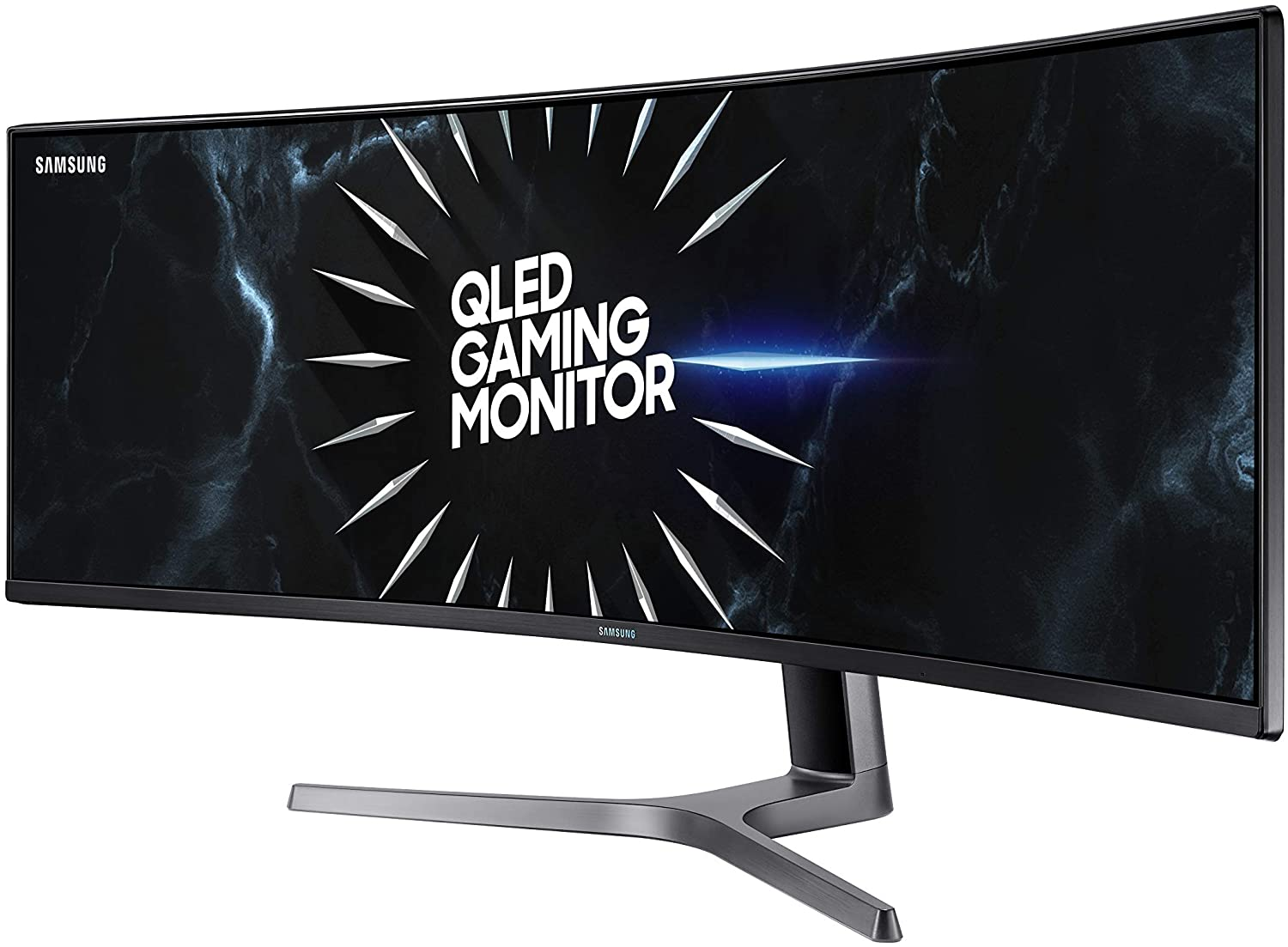 Samsung LC49RG90SSNXZA 49″ (5120 x 1440p) 120Hz QLED Curved Ultrawide  Gaming Monitor