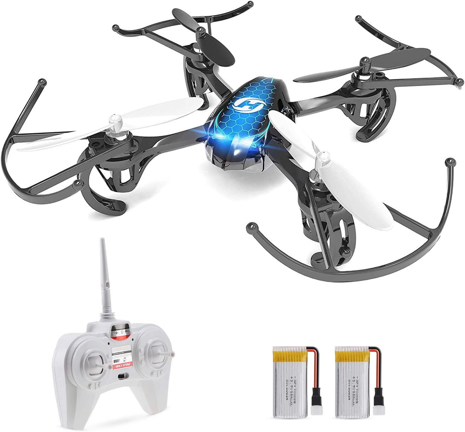 Holy Stone HS170 Predator is the best quadcopter for beginners.