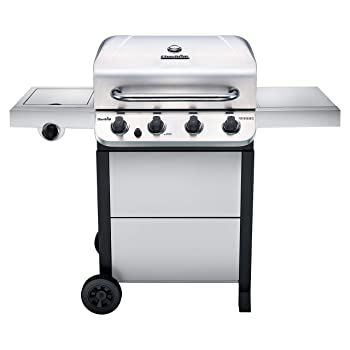 Char-Broil 463377319 Performance Stainless Steel 4-Burner Cart Style Propane Grill