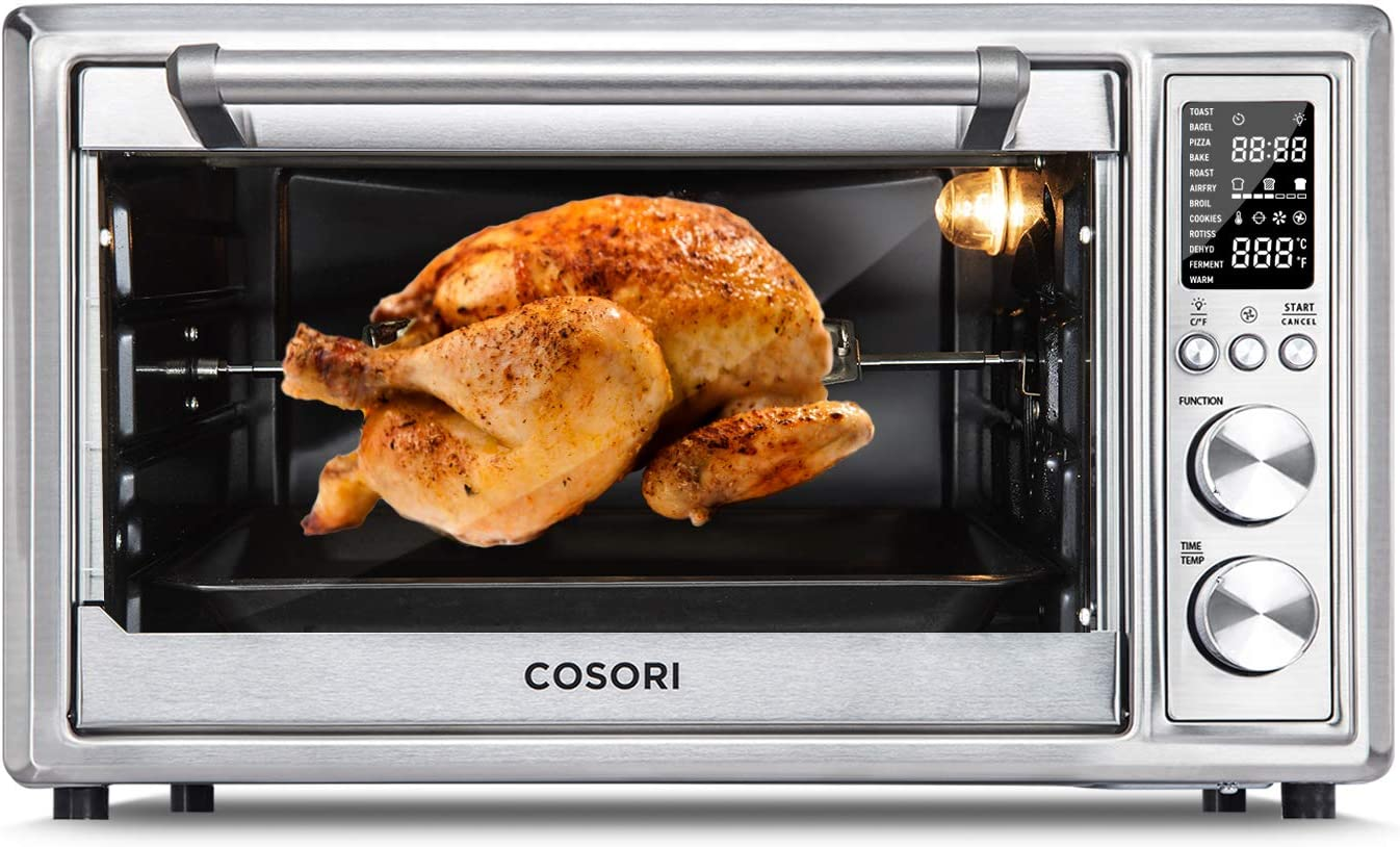 COSORI CO130-AO 12-in-1 Air Fryer Toaster Oven Combo