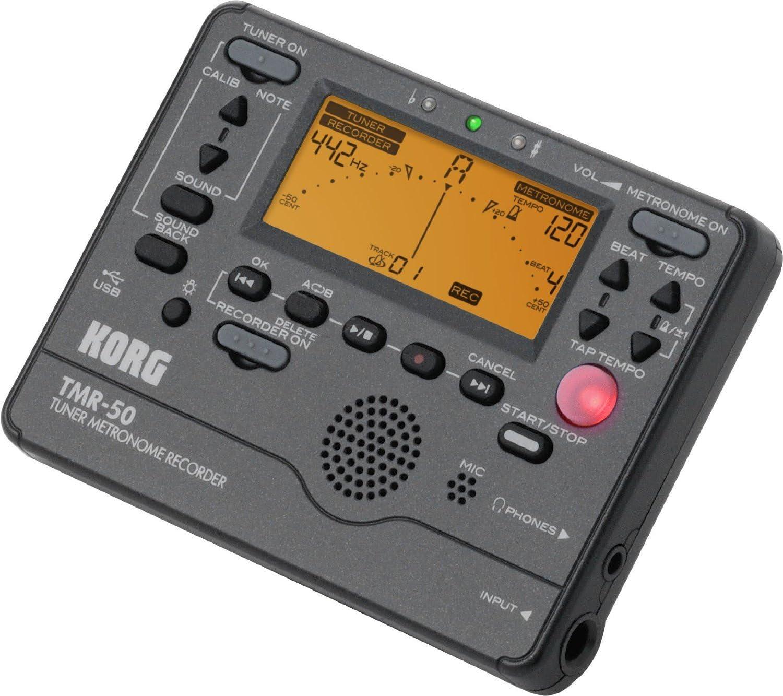 Korg Tmr50Bk Tmr-50 Tuner Metronome Recorder - Black