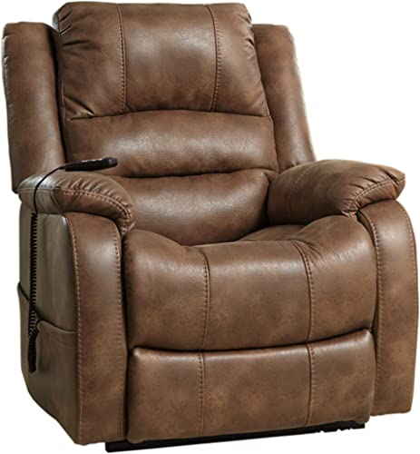 Signature-Design-by-Ashley-Yandel-Power-Lift-Oversized-Recliner-Saddle