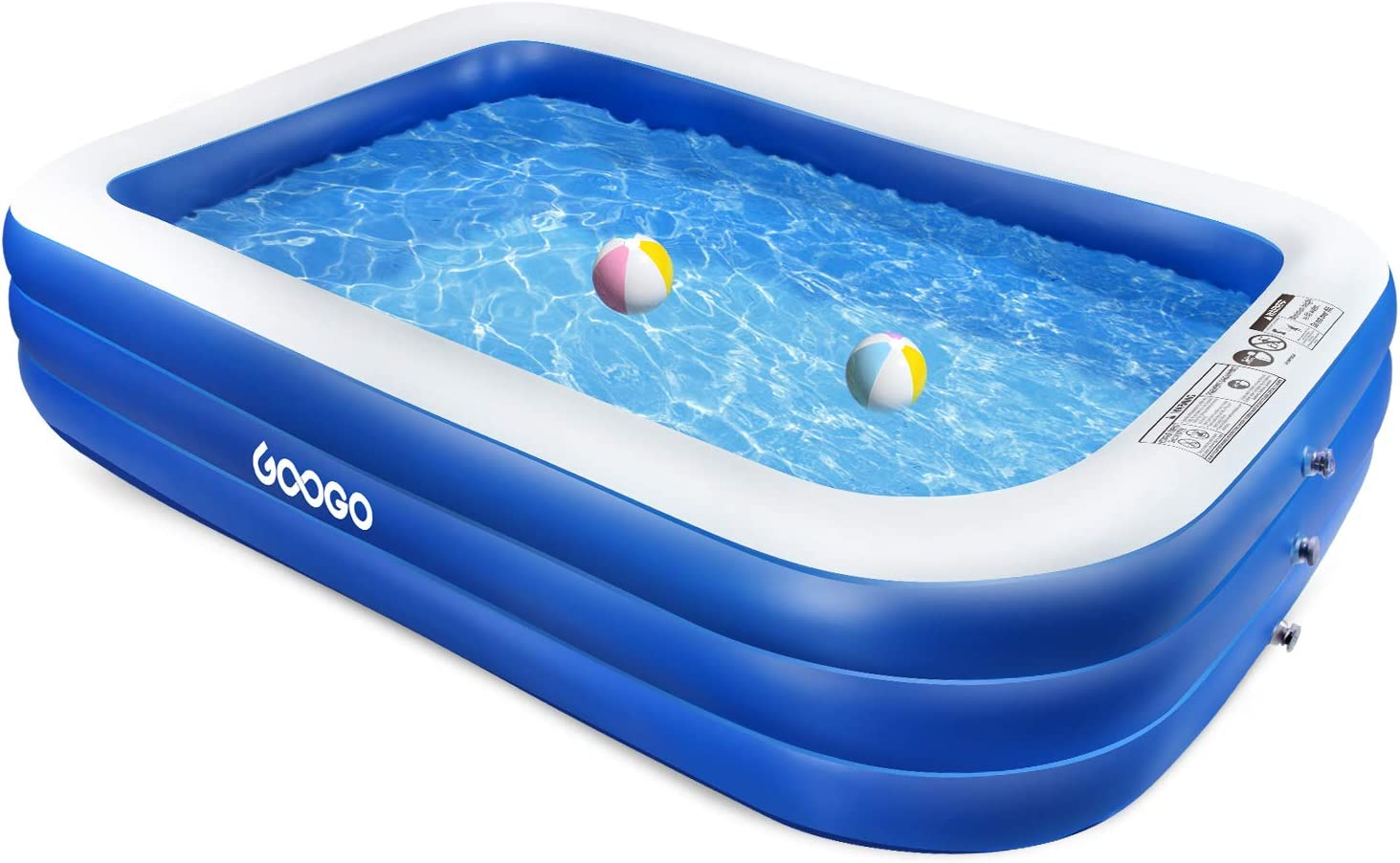 GOOGO Family Inflatable Swimming Pool