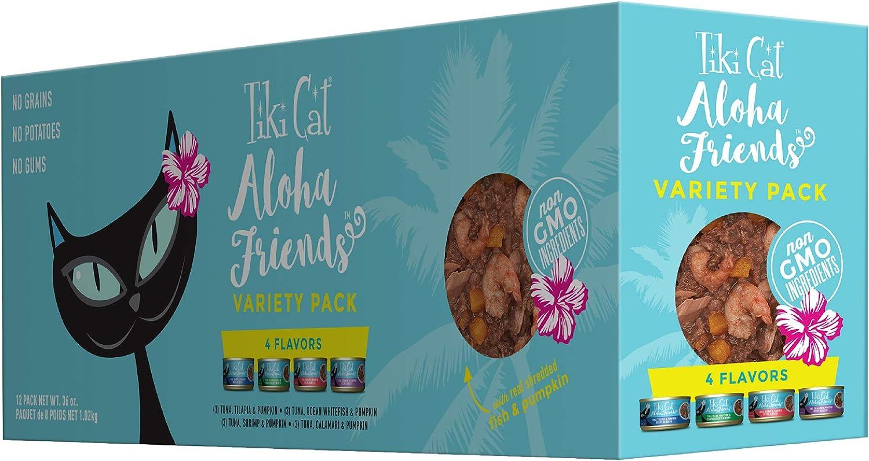 Tiki Aloha Cat Food
