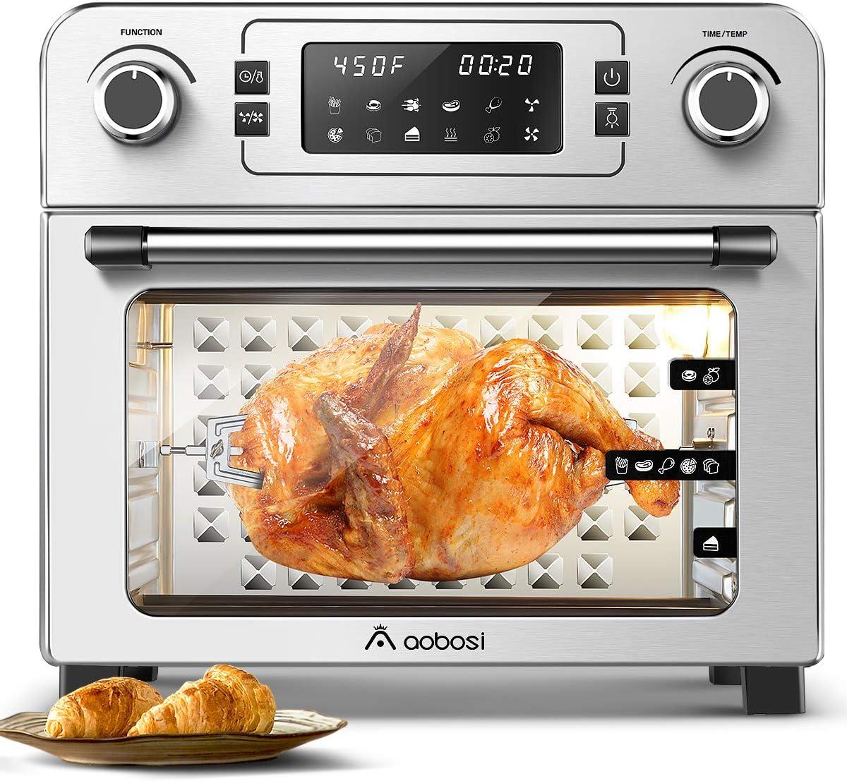 Aobosi Toaster Oven Air Fryer Oven Toaster
