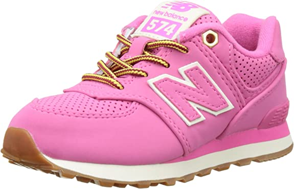 New Balance Girls  KL574V1 Sneakers, Pin…
