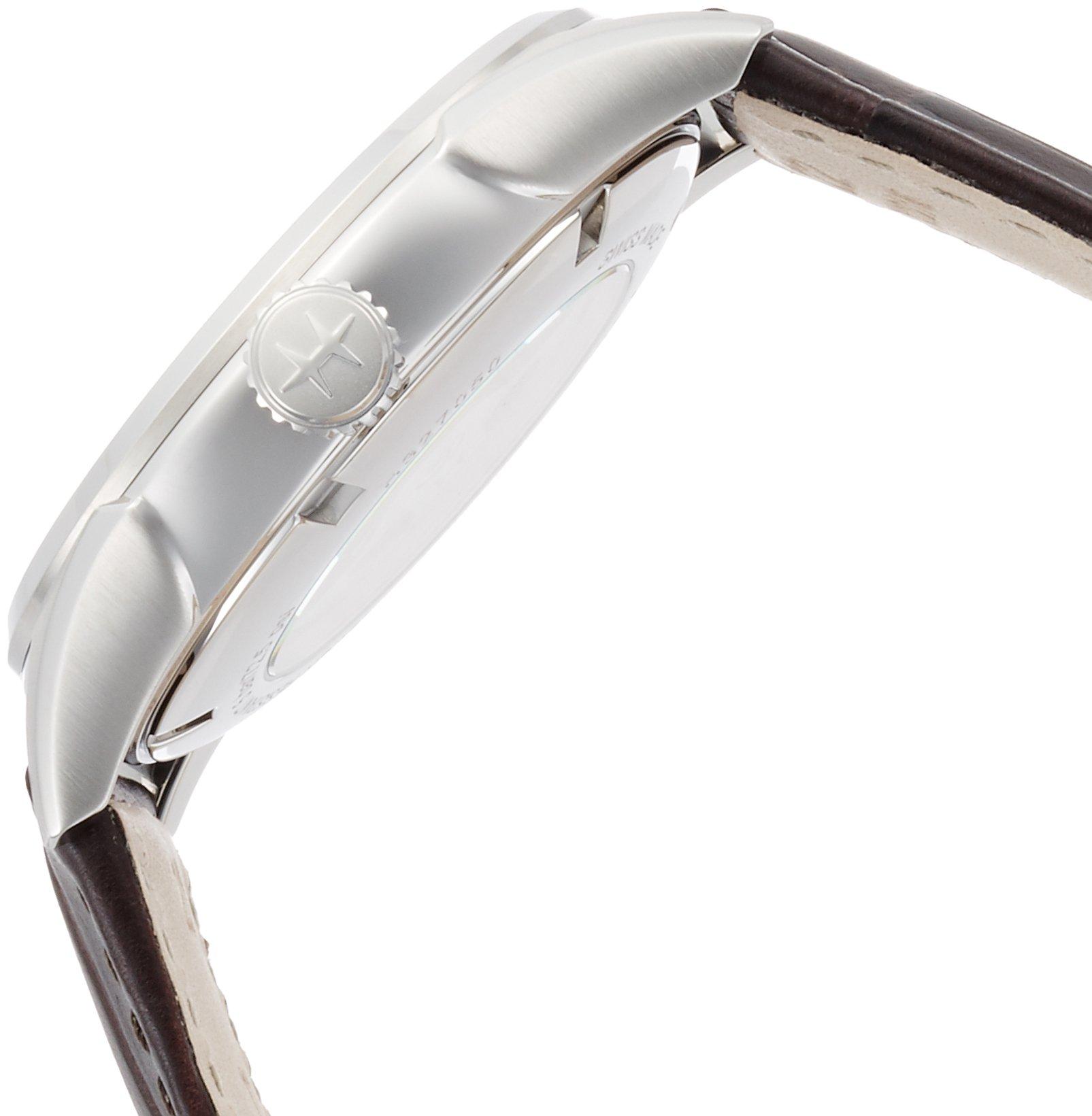 Hamilton Jazzmaster Silver Dial Leather Strap Men's Watch H32705551
