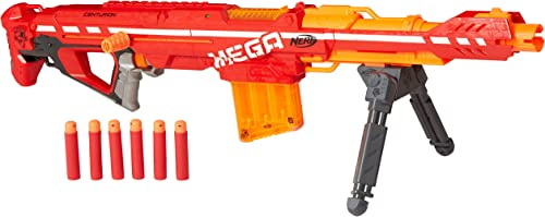 Nerf Centurion Mega Toy Blaster with Folding Bipod review