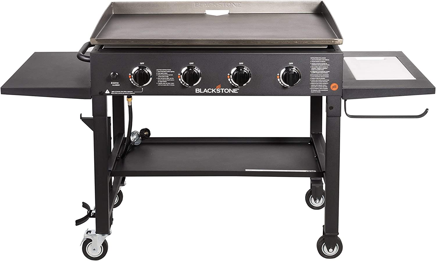 "The Blackstone 36"" Outdoor Flat Top Gas Grill Griddle Station"
