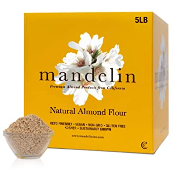 Mandelin Grower Direct Natural Unblanched Almond Flour
