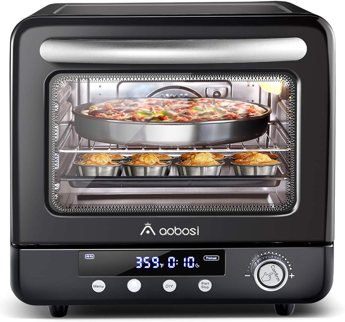 Air Fryer Oven Aobosi Electric Toaster Oven