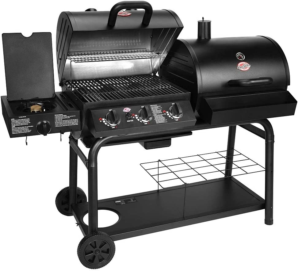 The Char-Griller duo black dual-function combo grill review