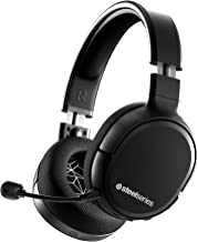 $79 » SteelSeries Arctis 1 Wireless Gaming Headset – USB-C – Detachable Clearcast Microphone – for PC, PS4, Nintendo Switch and Lite, Android – Black