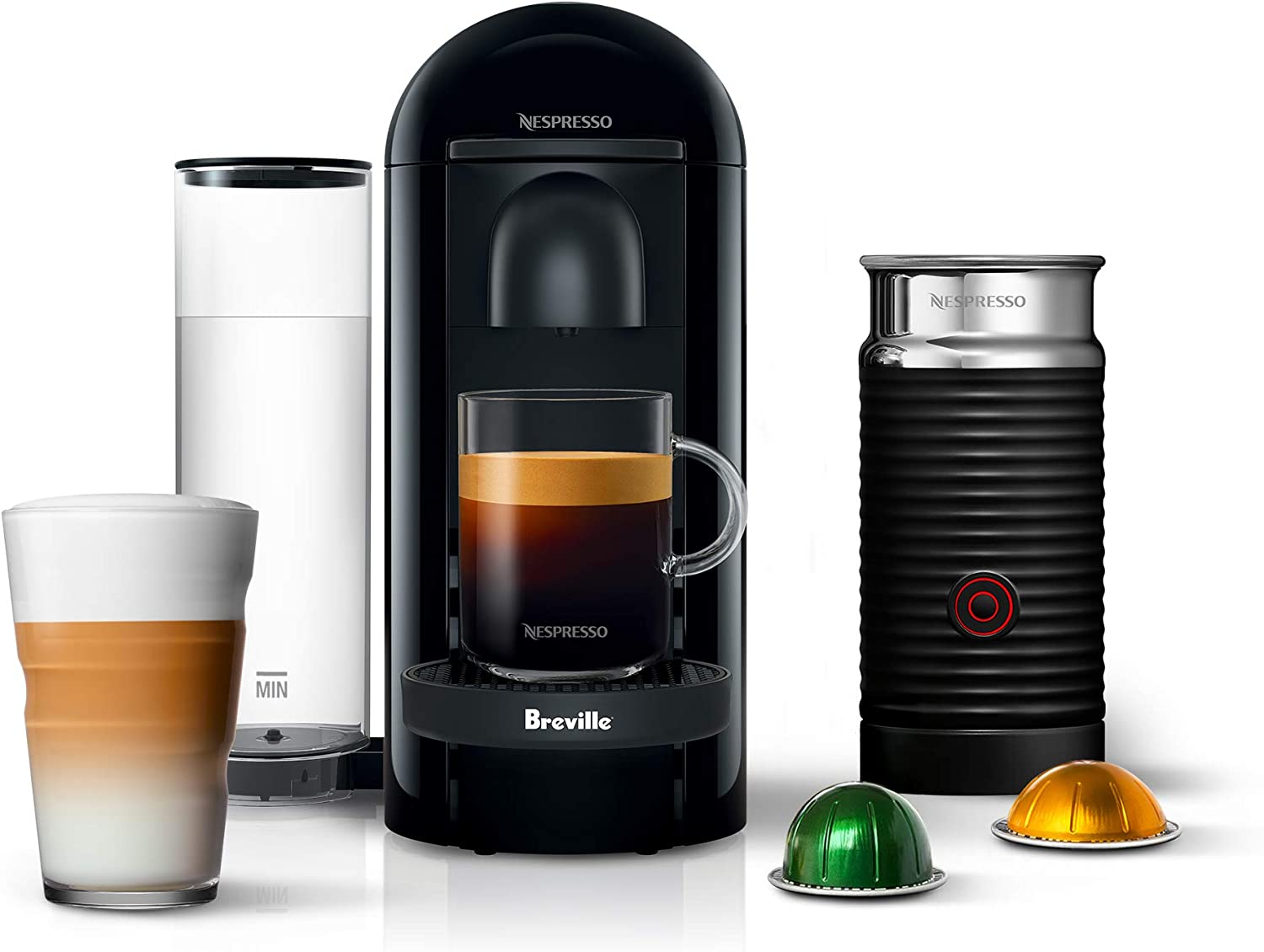 Nespresso VertuoPlus Coffee and Espresso Machine review