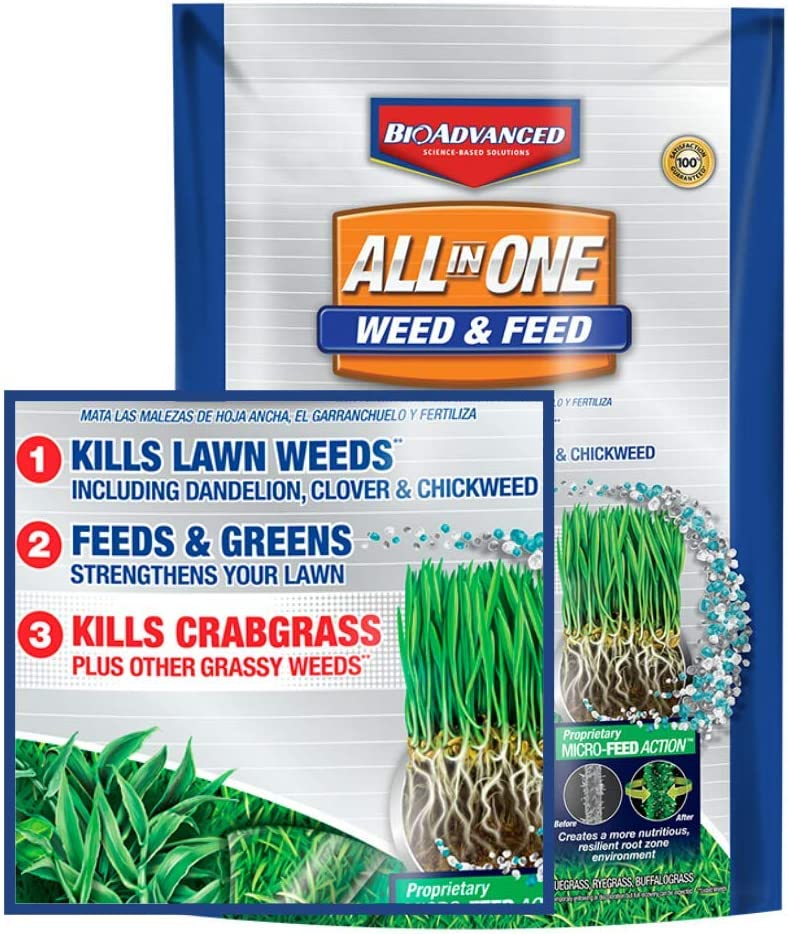 Bio Advanced All-in-One Weed & Feed