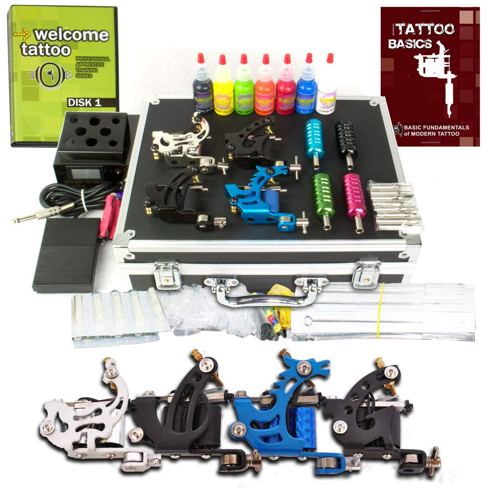 Grinder Tattoo Kit by Pirate Face Tattoo