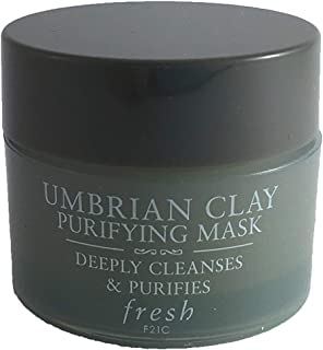Fresh Umbrian Clay Purifying Mask, for Normal To Oily Skin~ Trial Size 0.5oz