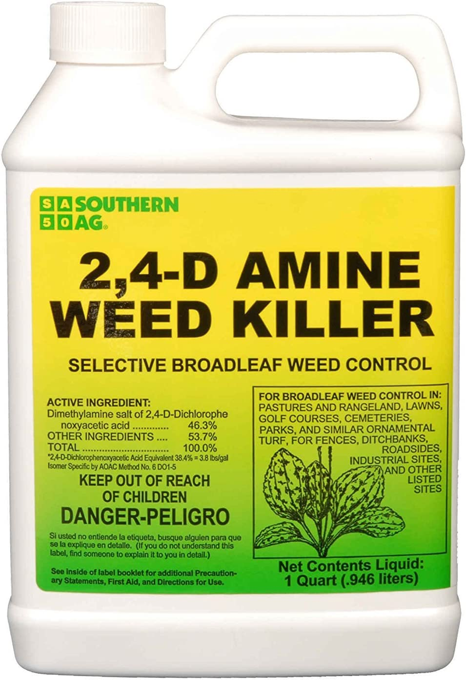 Southern AG Amine 2,4-D Weed Killer