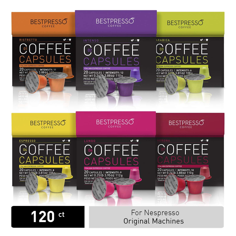 Nespresso OriginalLine Certified Compatible by Bestpresso