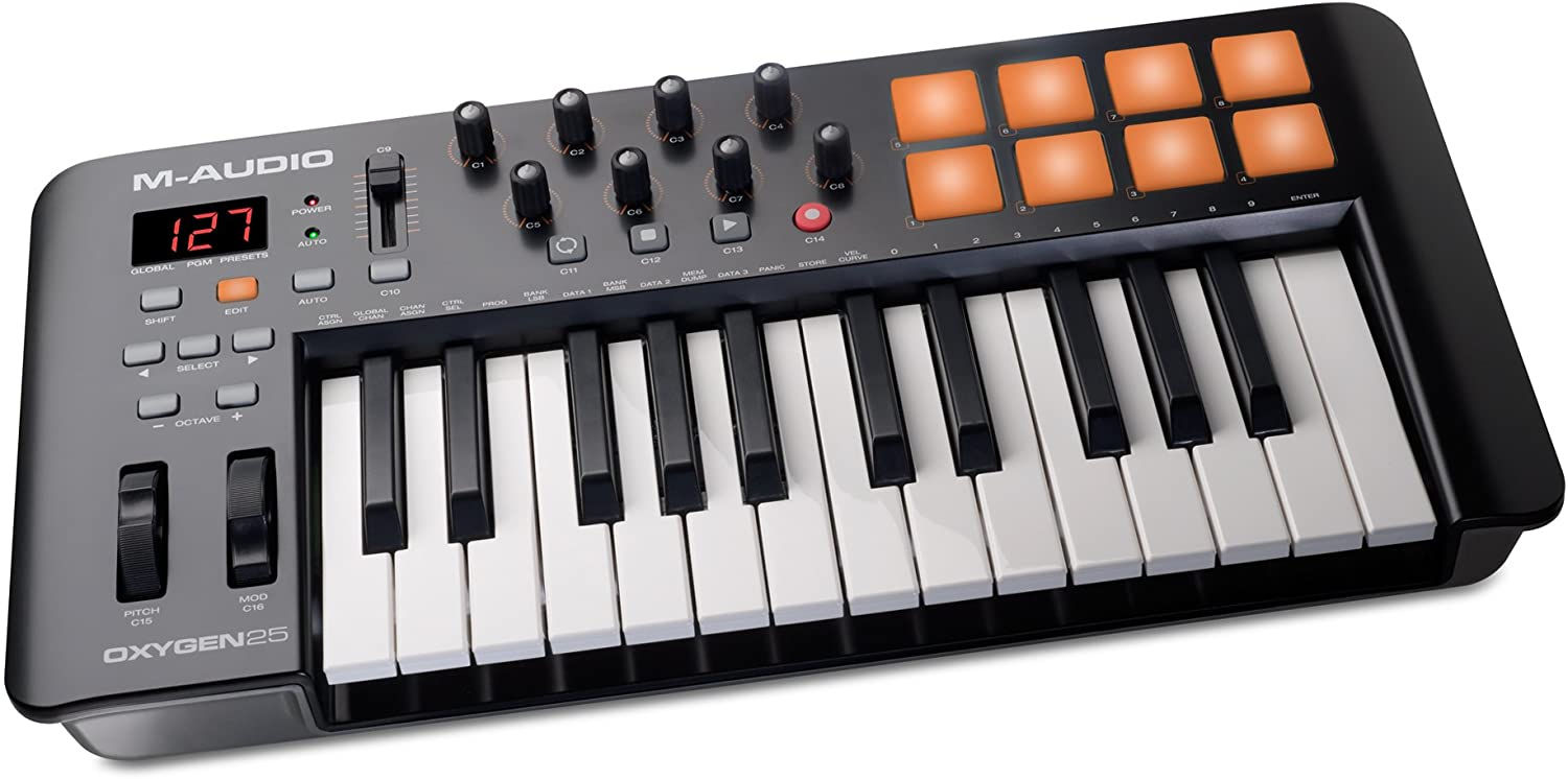M-Audio Oxygen 25 Iv | Usb Keyboard And Pad Midi Controller