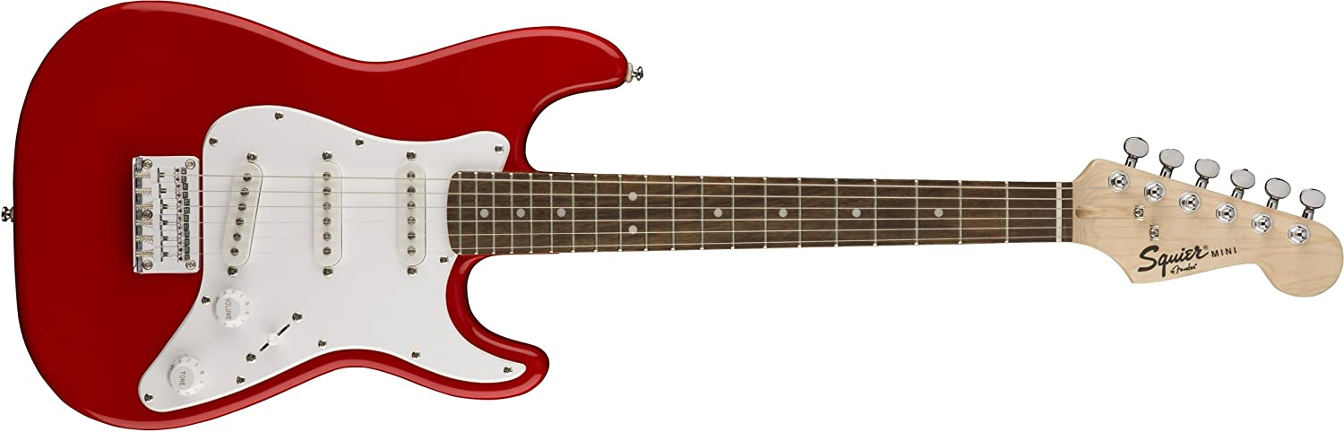 Squier By Fender Mini Stratocaster Beginner Electric Guitar
