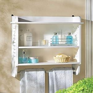 Gifts & Decor 14706 Bathroom Shelf