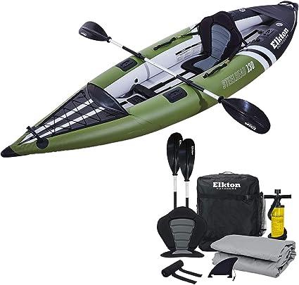 Elkton Outdoors Steelhead Inflatable Kayak