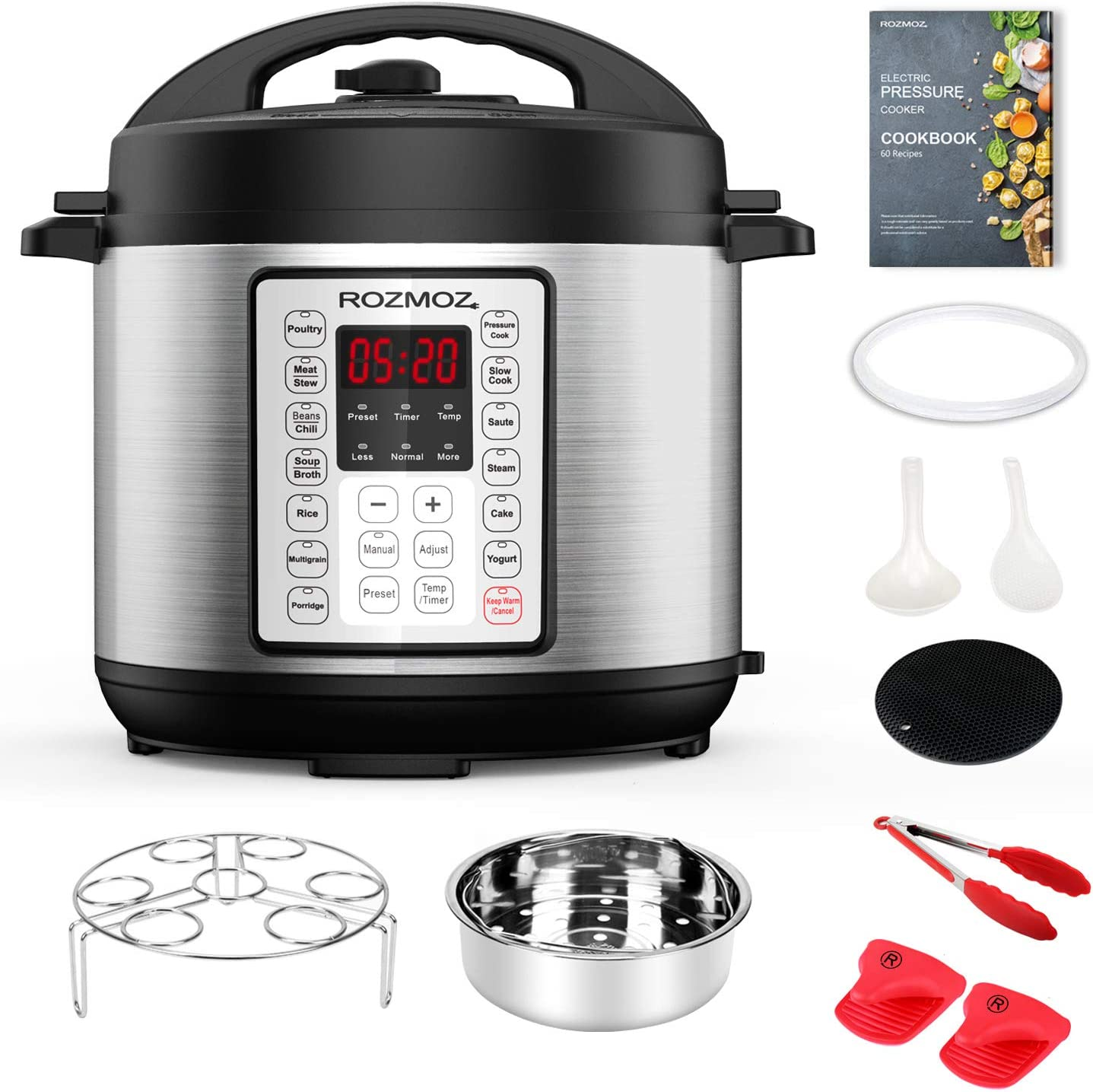 Rozmoz 14-in-1 Electric Pressure Cooker