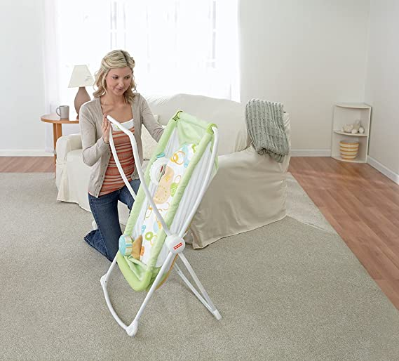 Fisher-Price Rock with Me Bassinet easy assemble
