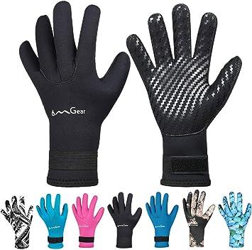 OMGear Neoprene Spearfishing Gloves