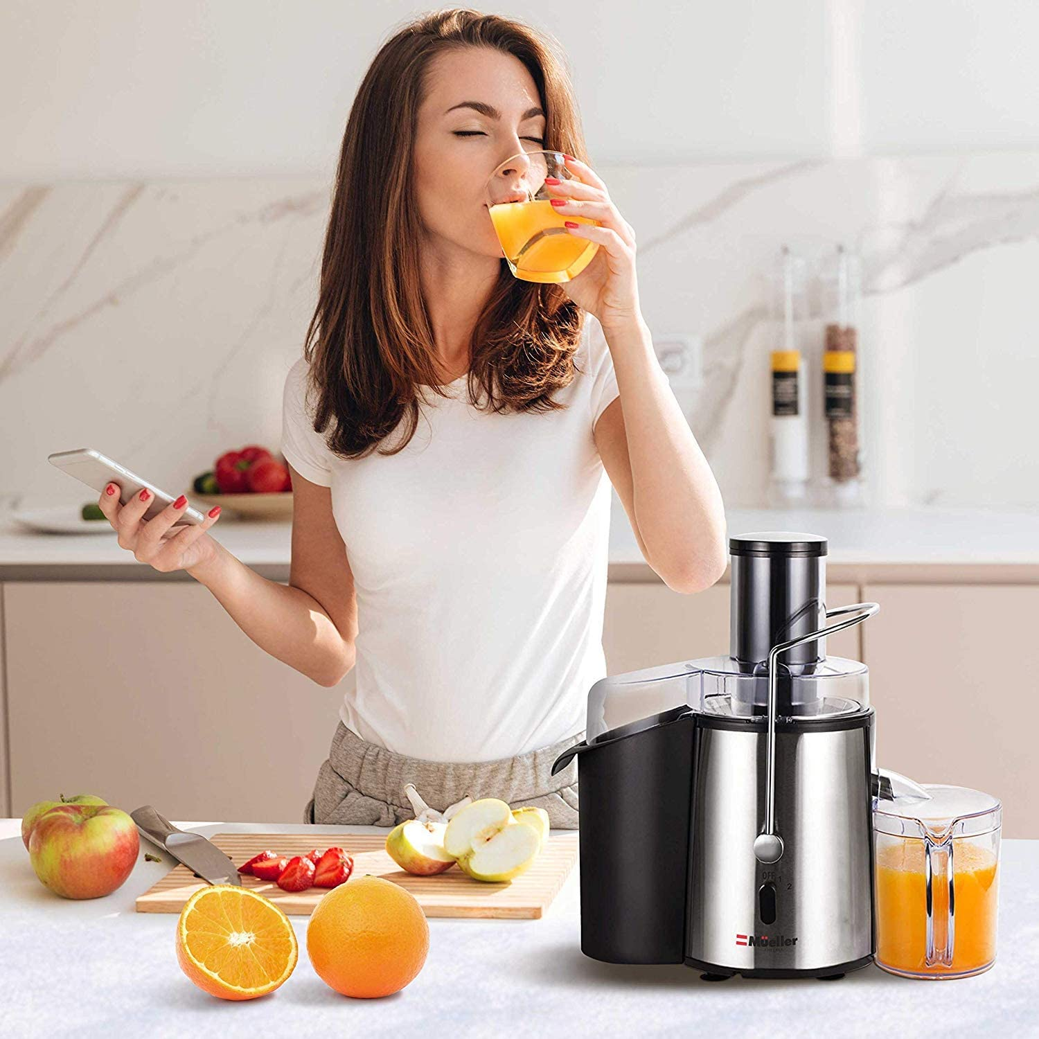 Best Juicer Under $100, Mueller Austria Juicer Ultra 1100W Power