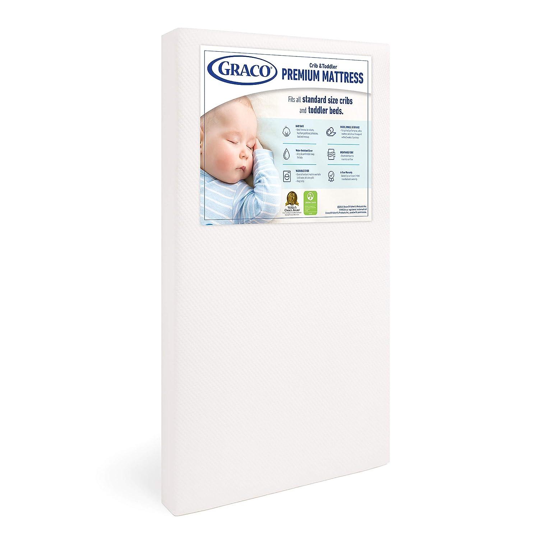 Graco Premium Foam Crib and Toddler Mattress in a Box