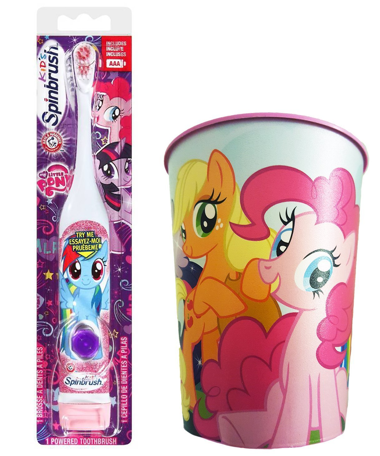 My Little Pony Rainbow Dash Toothbrush Bundle 2 Items Spinbrush Toothbrush My Little Pony Kids Rinse Cup Buy Online In Aruba At Aruba Desertcart Com Productid 35374572