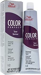 Wella Color Perfect Permanent Creme Gel Toner T9n Pale Blonde for Unisex, 2 Ounce