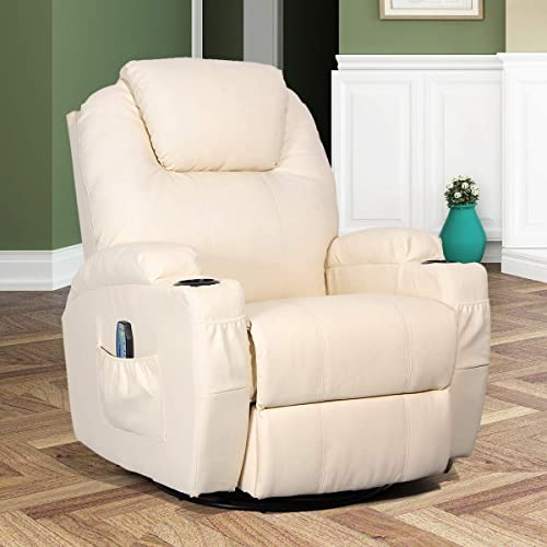 Esright-Massage-Recliner-Chair-Heated-PU-Leather-Ergonomic-Lounge-360-Degree-Swivel