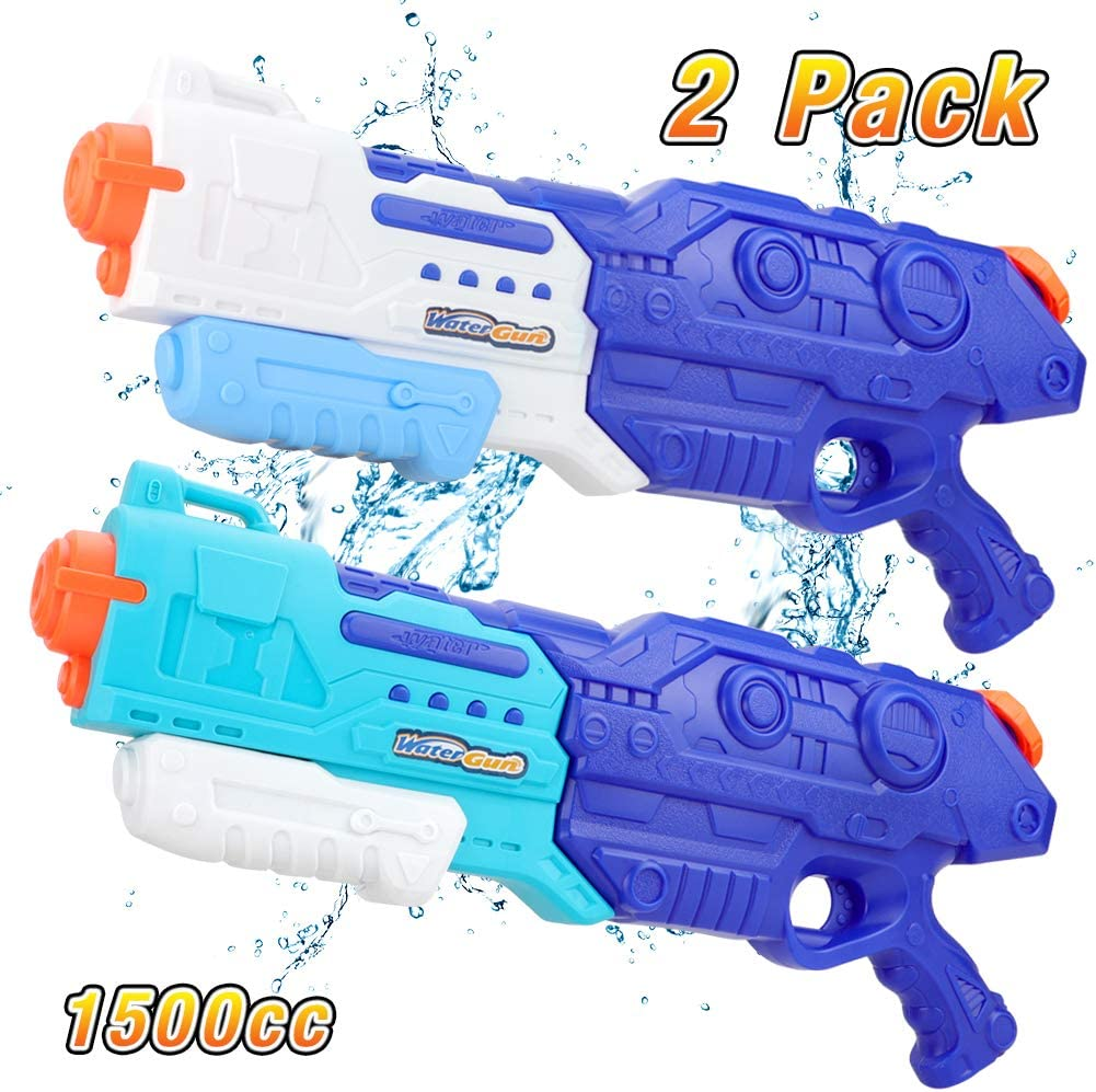 2-Pack Forty4 1500CC Squirt Water Gun