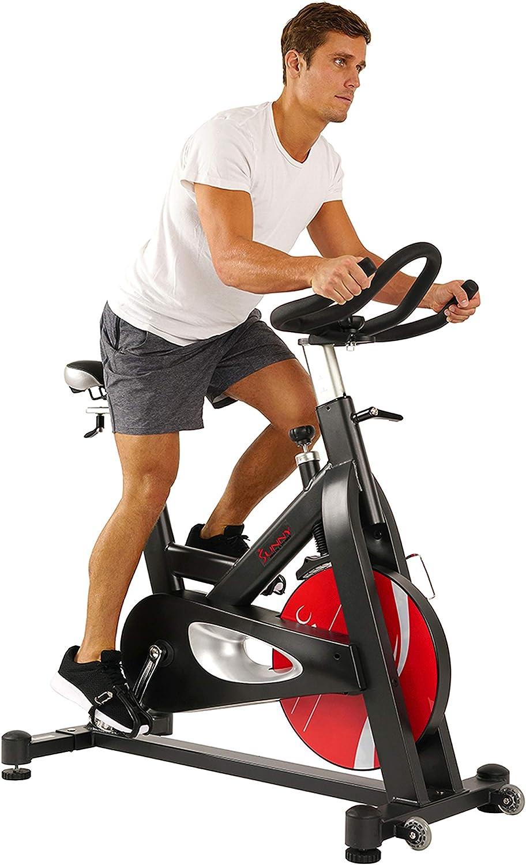 Sunny Health & Fitness Evolution Pro Spinning Bike